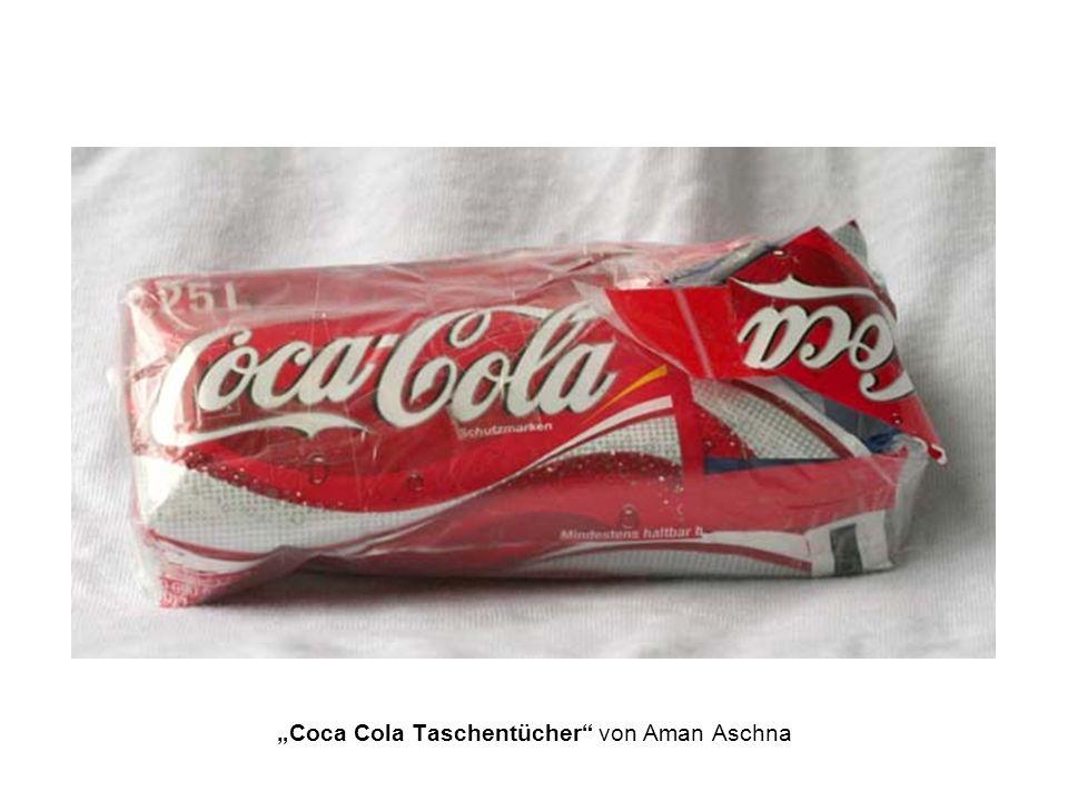 Coca Cola Taschentücher von Aman Aschna