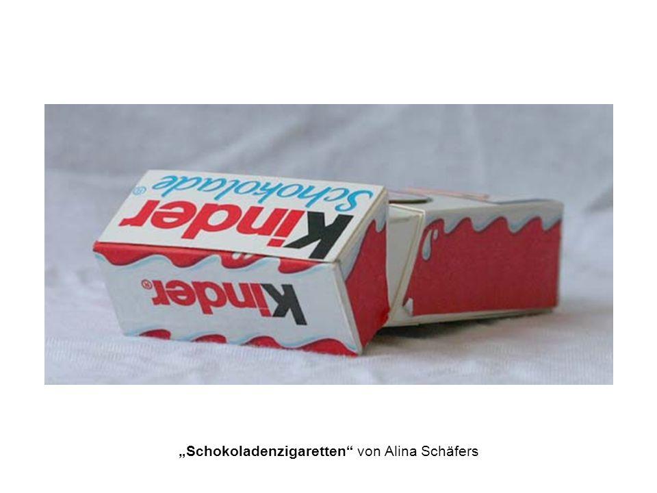 Schokoladenzigaretten von Alina Schäfers