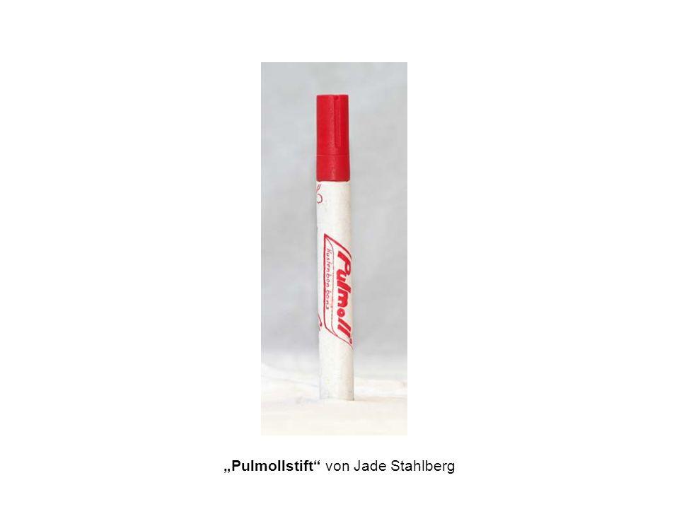 Pulmollstift von Jade Stahlberg