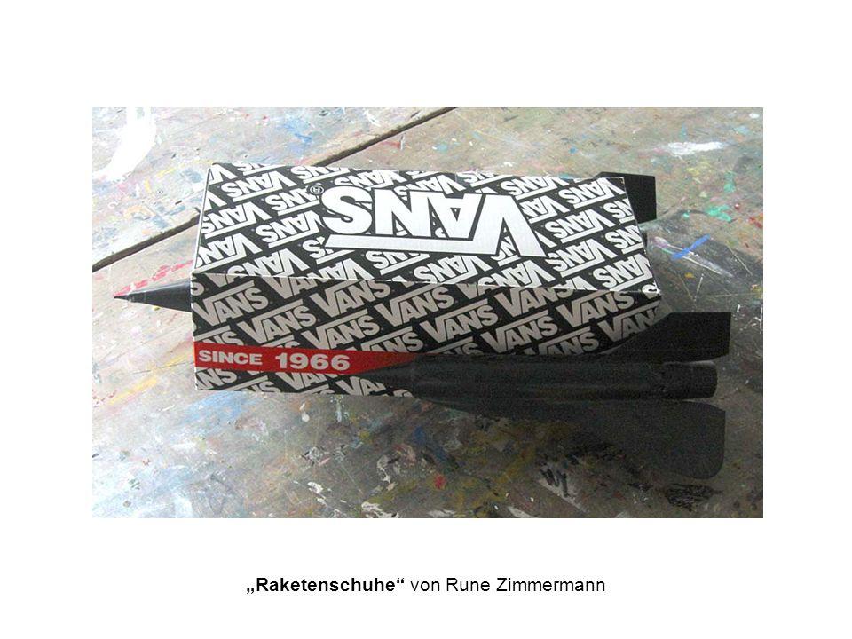 Raketenschuhe von Rune Zimmermann