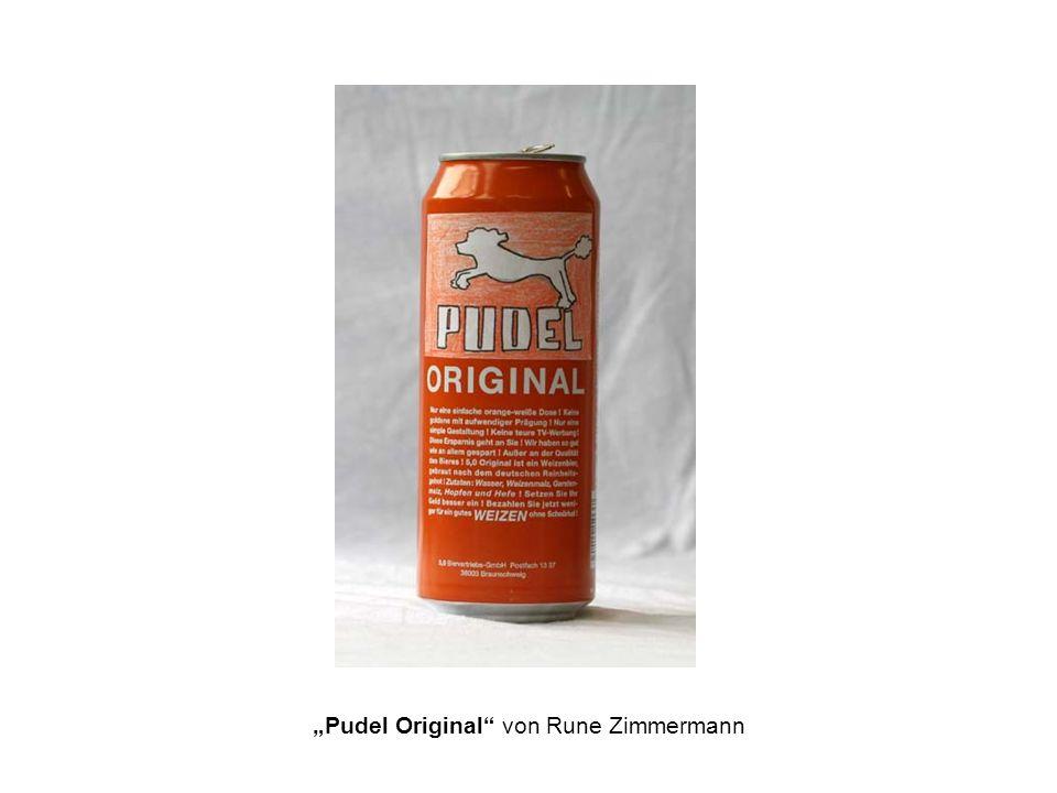 Pudel Original von Rune Zimmermann