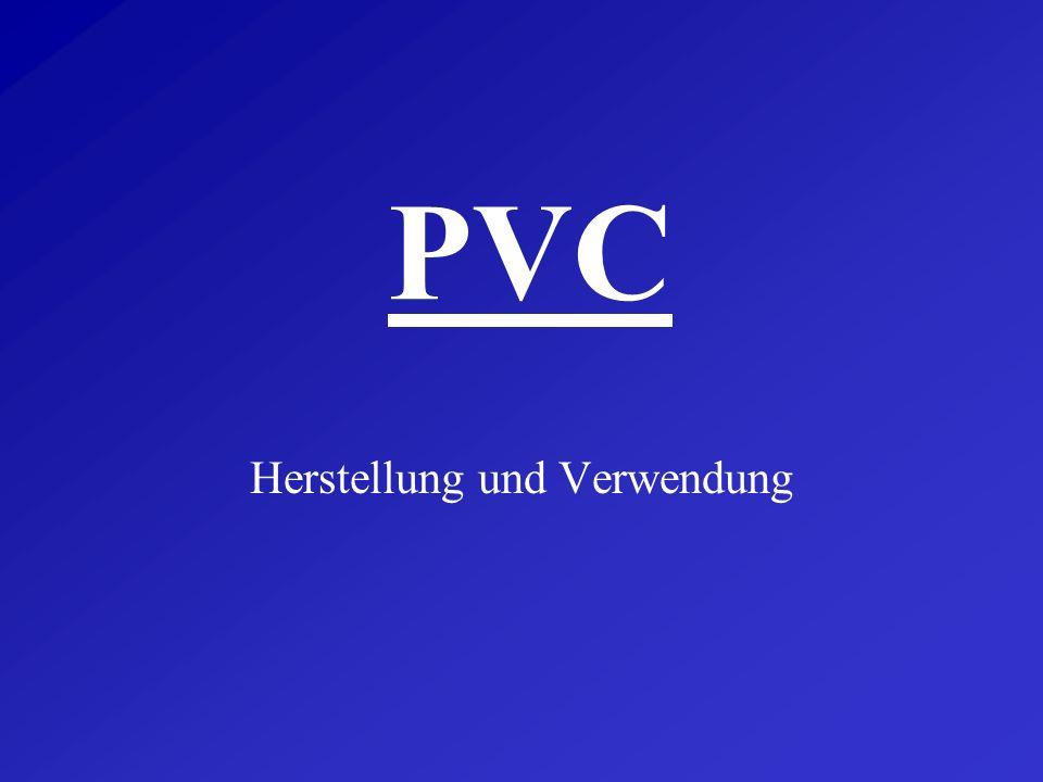 Umweltproblematik - PVC zersetzt sich nicht von alleine - PVC-Einsatz kann Energie sparen - werkstoffliche/rohstoffliche Verwertung möglich