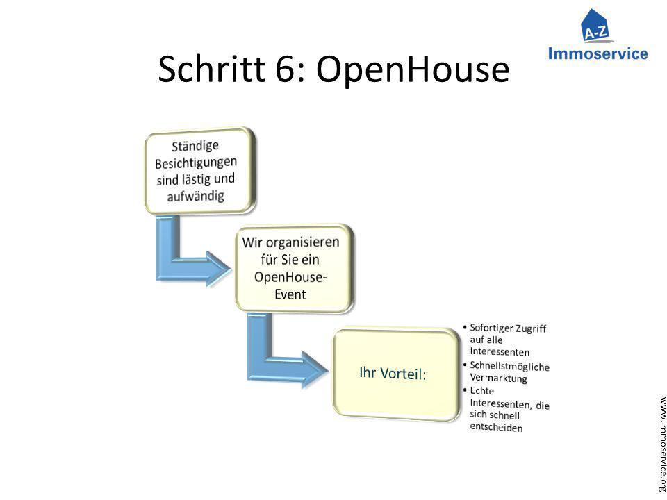 www.immoservice.org Schritt 6: OpenHouse