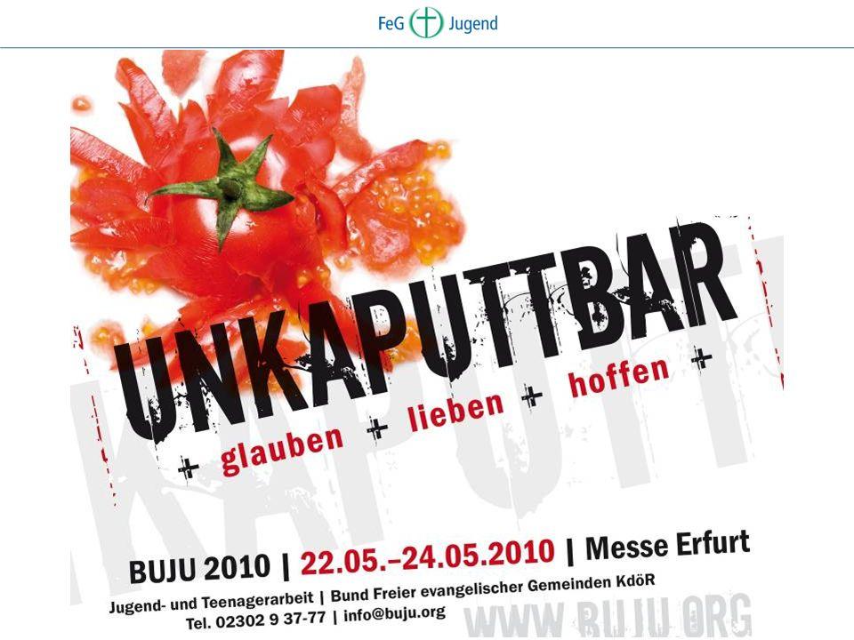 BUJU - Die Veranstaltung BUndesJUgendtreffen des Bundes FeG alle 3 Jahre für 3 Tage über Pfingsten 4300 Teenager, Jugendliche und junge Erwachsene aus ganz Deutschland.