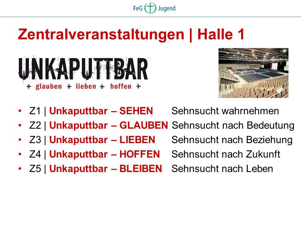 Dezentrales Programm Seelsorge Marktplatz Gespräche und Begegnungen | Infostände, internationale Gäste, Kleinkunst Konzerte Musical Seminare Funpark Jesus-Weg