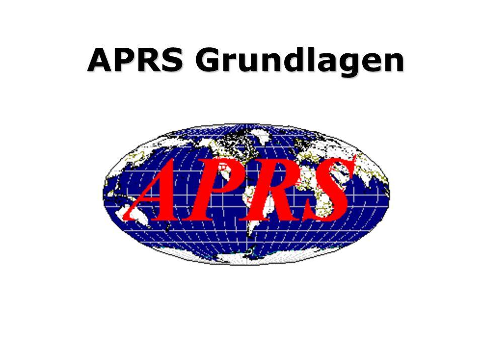 Vorbemerkungen Zum gemeinsamen Verständnis des folgenden Vortrages ist es notwendig die Zielstellungen von APRS zu verstehen, so wie sie von Bob Bruni