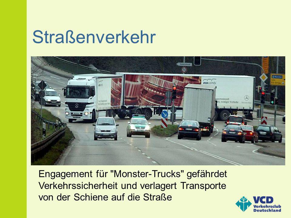 Straßenverkehr Engagement für