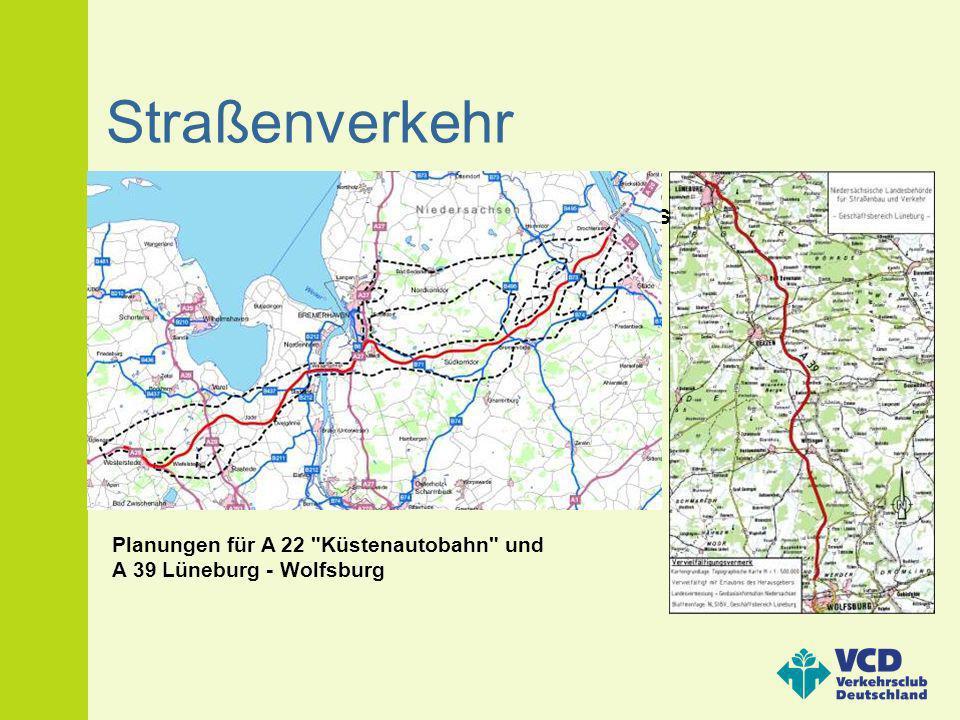 Beispiel Umbau des Autobahndreiecks Braunschweig-Südwest (A 39/ A391) Straßenverkehr Planungen für A 22