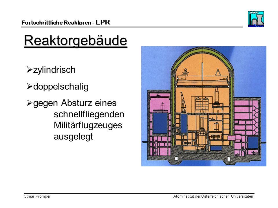 __________________________ Fortschrittliche Reaktoren - EPR ___________________________ Otmar Promper Atominstitut der Österreichischen Universitäten
