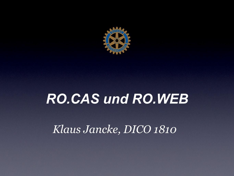 RO.CAS und RO.WEB Klaus Jancke, DICO 1810