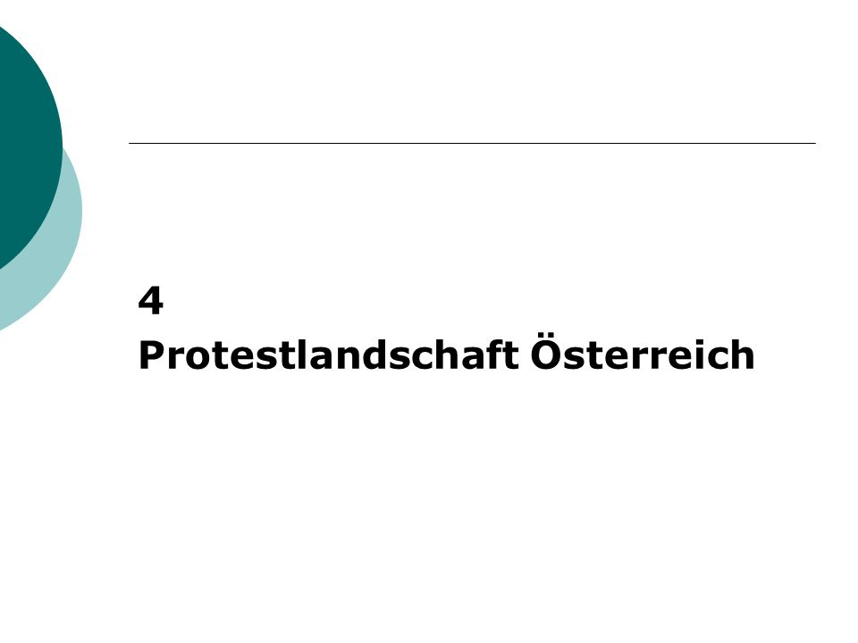 4 Protestlandschaft Österreich