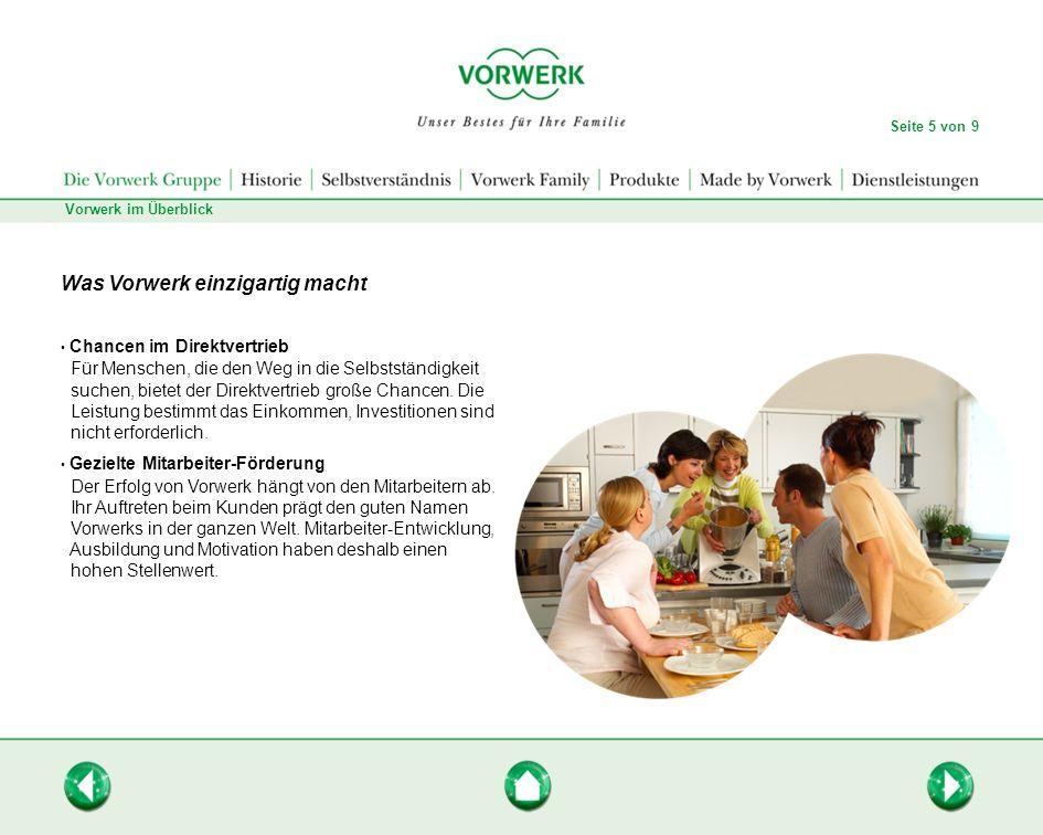 Die Idee Unser Bestes für Ihre Familie: Eine Idee, die das Familienunternehmen Vorwerk prägt.