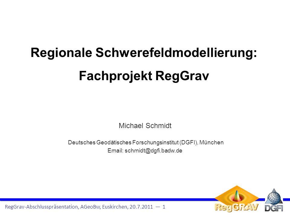 Auszüge aus der Leistungsbeschreibung des Projekts vom 29.4.2009: Um schwerebezogene Höhen mit hoher Genauigkeit auf der Grundlage von GPS zu bestimmen, bedarf es … regionaler Geoidmodelle, die in der Regel bei Einsätzen der Bundeswehr im Ausland nicht zur Verfügung stehen.