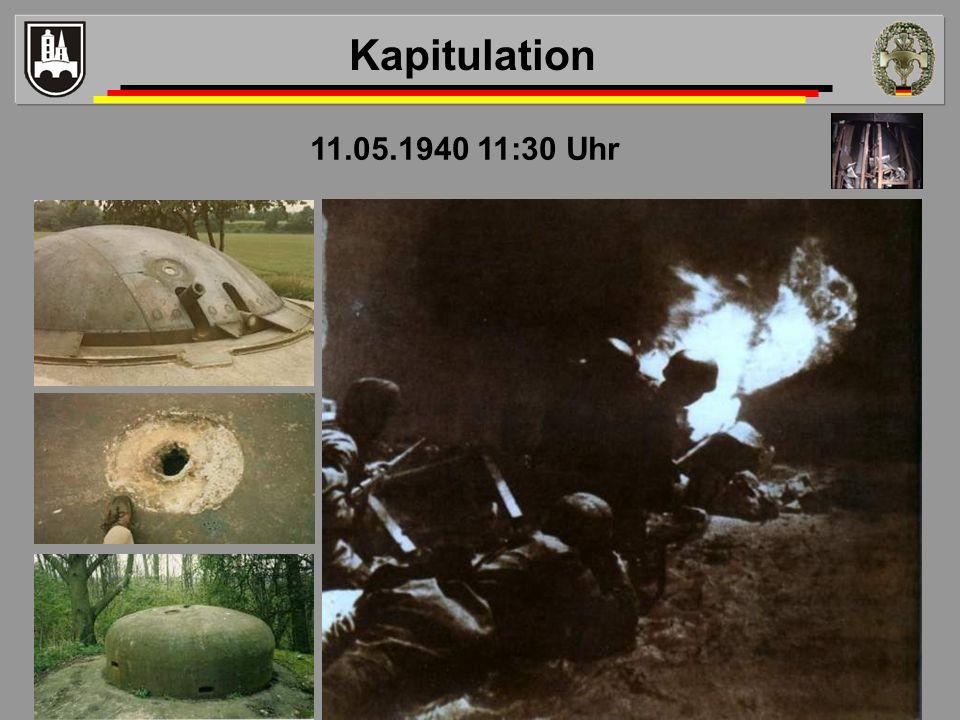 11.05.1940 11:30 Uhr Kapitulation