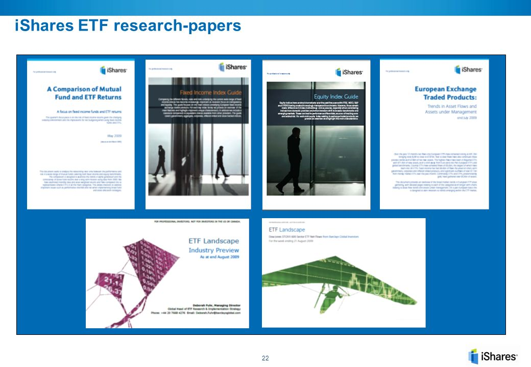 22 iShares ETF research-papers