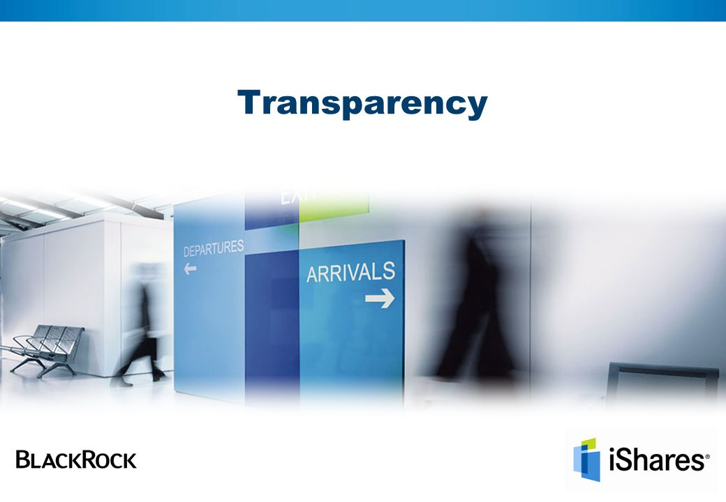 8 Total transparency with iShares ETFs Transparent costs Total Expense Ratios (TER) stated for all funds Spreads made transparent through on exchange pricing iShares publishes additional income earned within the funds iShares does not pay retrocession or trailing fees to distribution partners Know what you pay ETF benefits_Transparency_SNUIF_1109_EN_838330