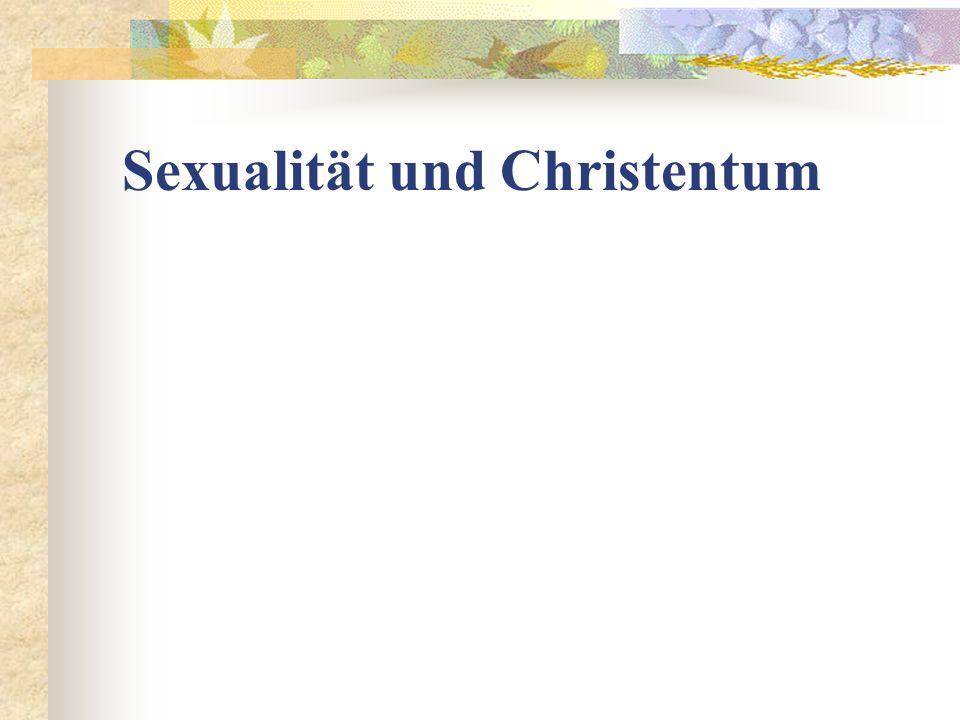 Sexualität und Christentum