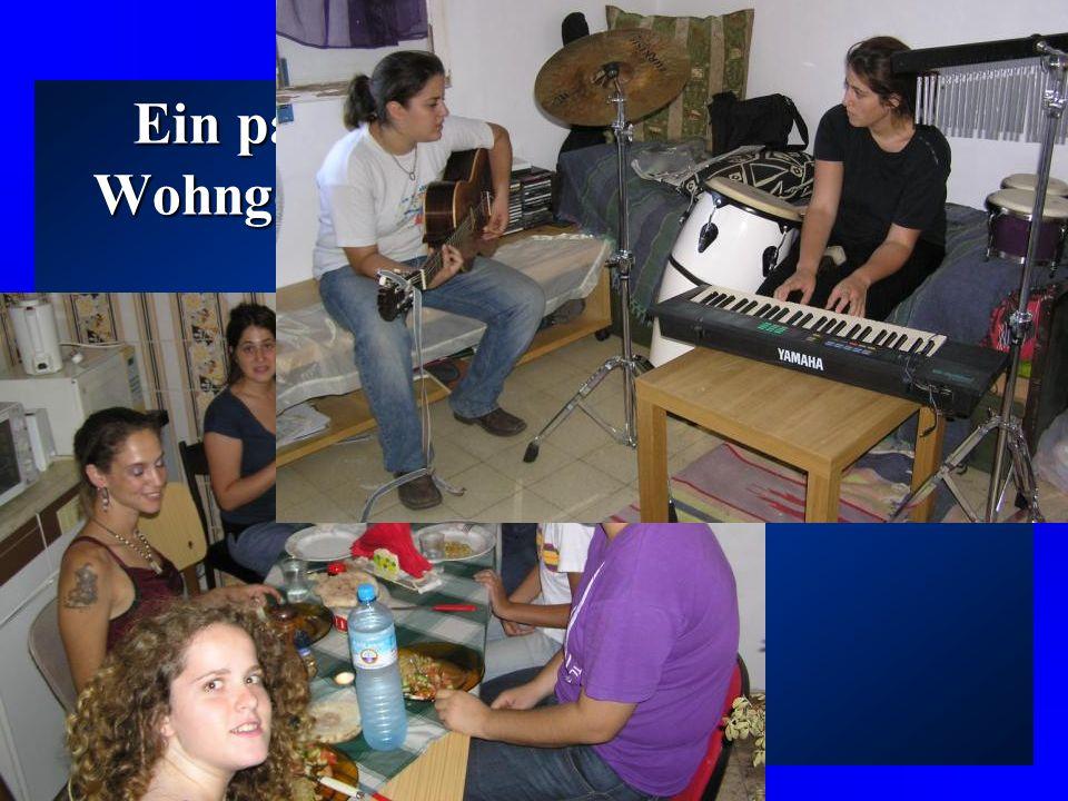 Eine erste Gruppe hat im Rahmen eines verkürzten Projektes zwischen August 2003 und November 2003 in Ramle gelebt. Die zweite Gruppe hat das ganze Pro