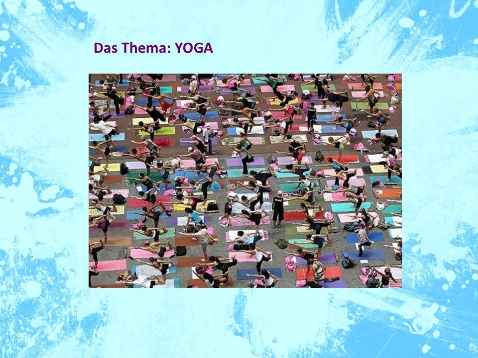 Warum.Yoga is everywhere. Und somit auch ein ergiebiges Forschungsthema in vielen Disziplinen.