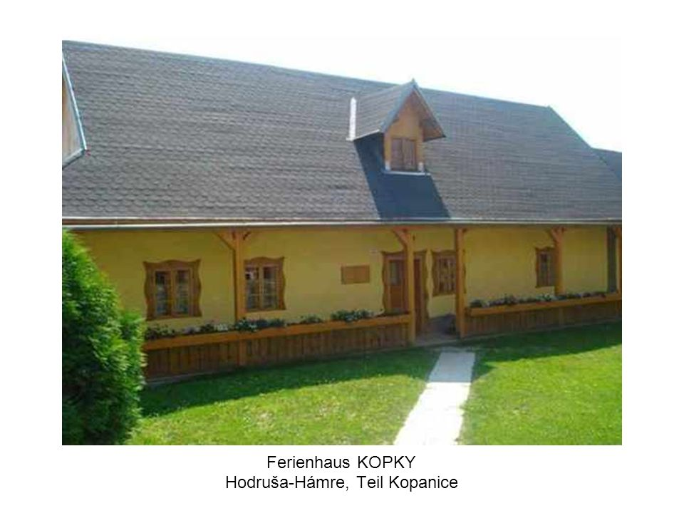Ferienhaus KOPKY Hodruša-Hámre, Teil Kopanice