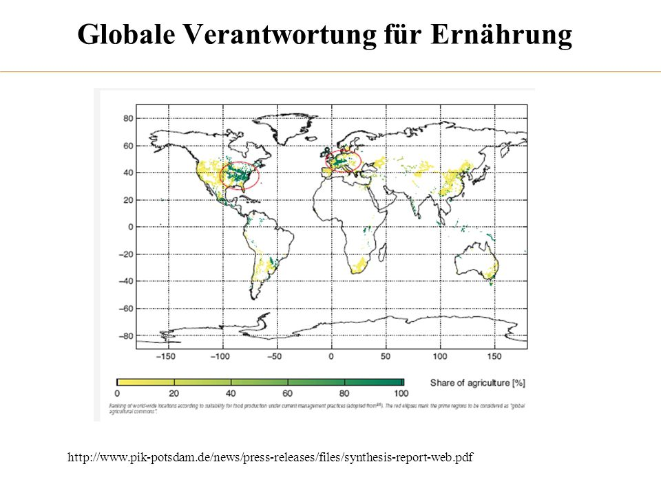 Globale Verantwortung für Ernährung http://www.pik-potsdam.de/news/press-releases/files/synthesis-report-web.pdf