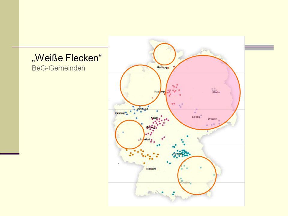 Weiße Flecken BeG-Gemeinden