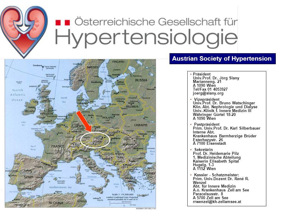 Präsident Univ.Prof. Dr. Jörg Slany Marianneng. 21 A 1090 Wien Tel/Fax 01 4053927 joerg@slany.org Vizepräsident Univ.Prof. Dr. Bruno Watschinger Klin.