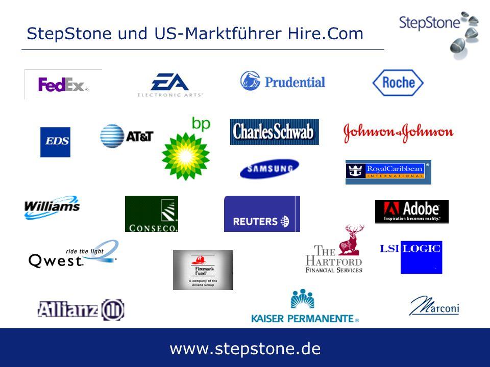www.stepstone.de StepStone und US-Marktführer Hire.Com