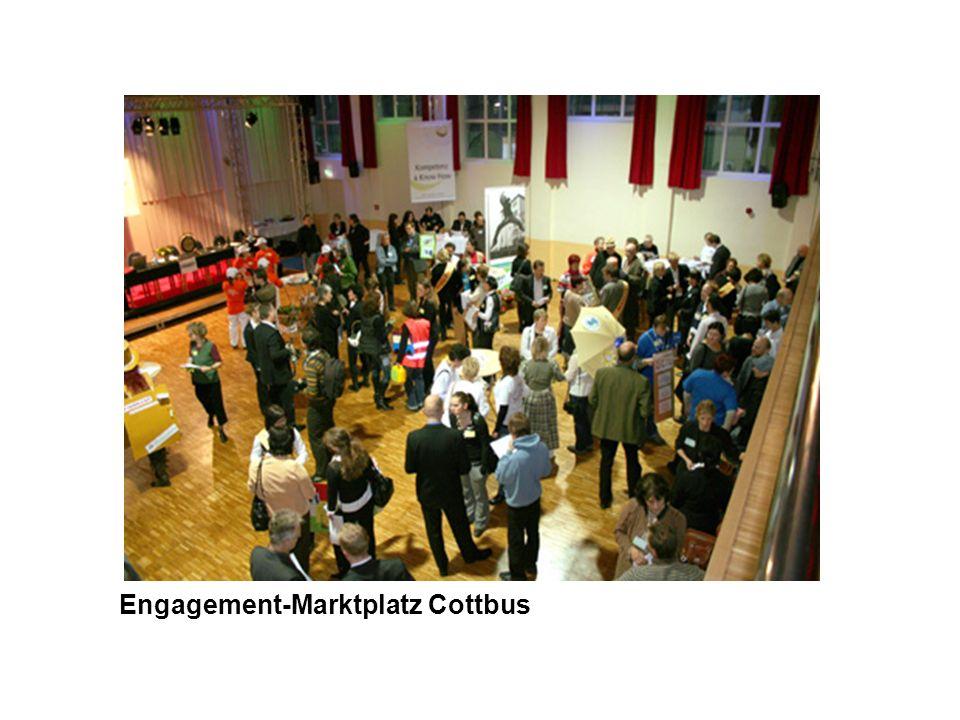 Engagement-Marktplatz Cottbus