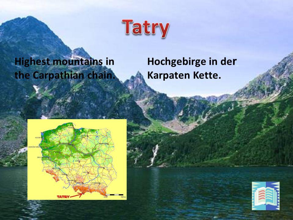Der größte See in der Hohen Tatra.