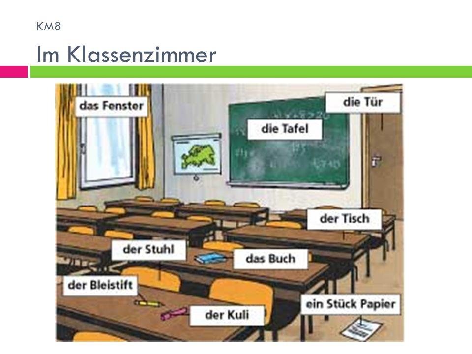 KM8 Im Klassenzimmer