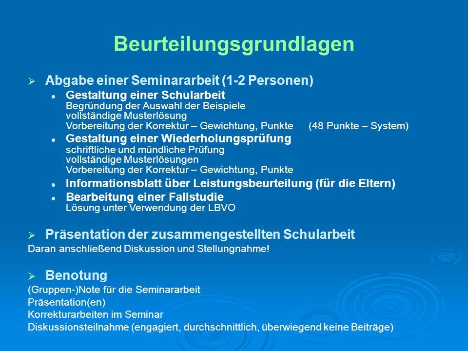 http:// www.dorfmayr.org http:// http://www.dorfmayr.org unter Lehre | Universität WienLiteraturempfehlungen Lehrpläne Lehrpläne Leistungsbeurteilungsverordnung Leistungsbeurteilungsverordnung
