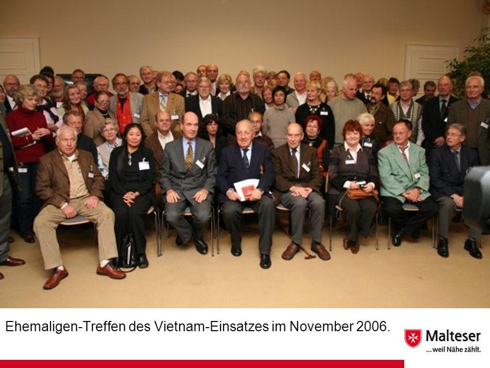 Ehemaligen-Treffen des Vietnam-Einsatzes im November 2006.