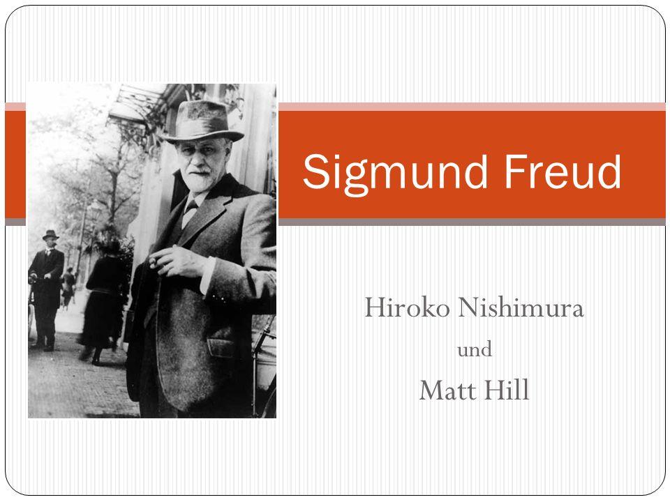 Hiroko Nishimura und Matt Hill Sigmund Freud