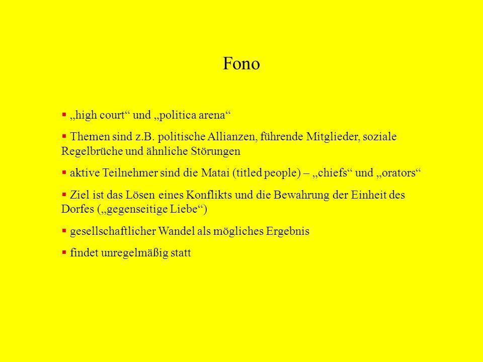 Fono high court und politica arena Themen sind z.B. politische Allianzen, führende Mitglieder, soziale Regelbrüche und ähnliche Störungen aktive Teiln