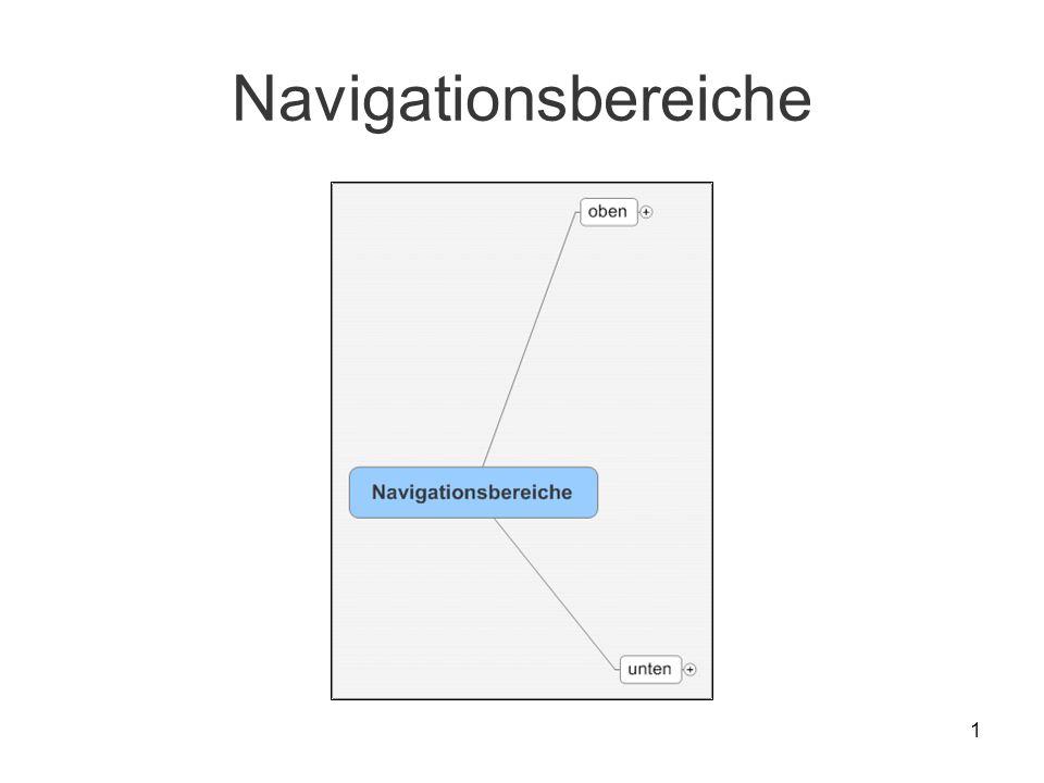 1 Navigationsbereiche