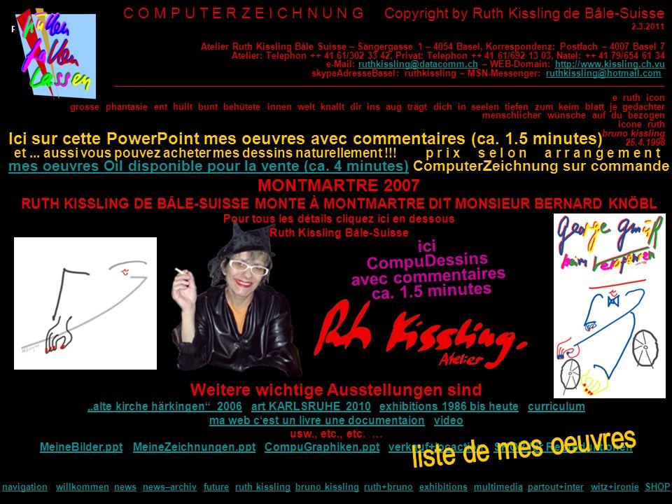 P P C O M P U T E R Z E I C H N U N G Copyright by Ruth Kissling de Bâle-Suisse 2.3.2011 e ruth icon grosse phantasie ent hüllt bunt behütete innen we