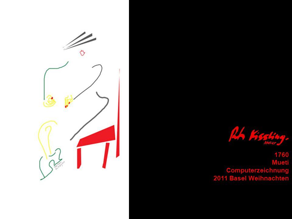 1760 Mueti Computerzeichnung 2011 Basel Weihnachten