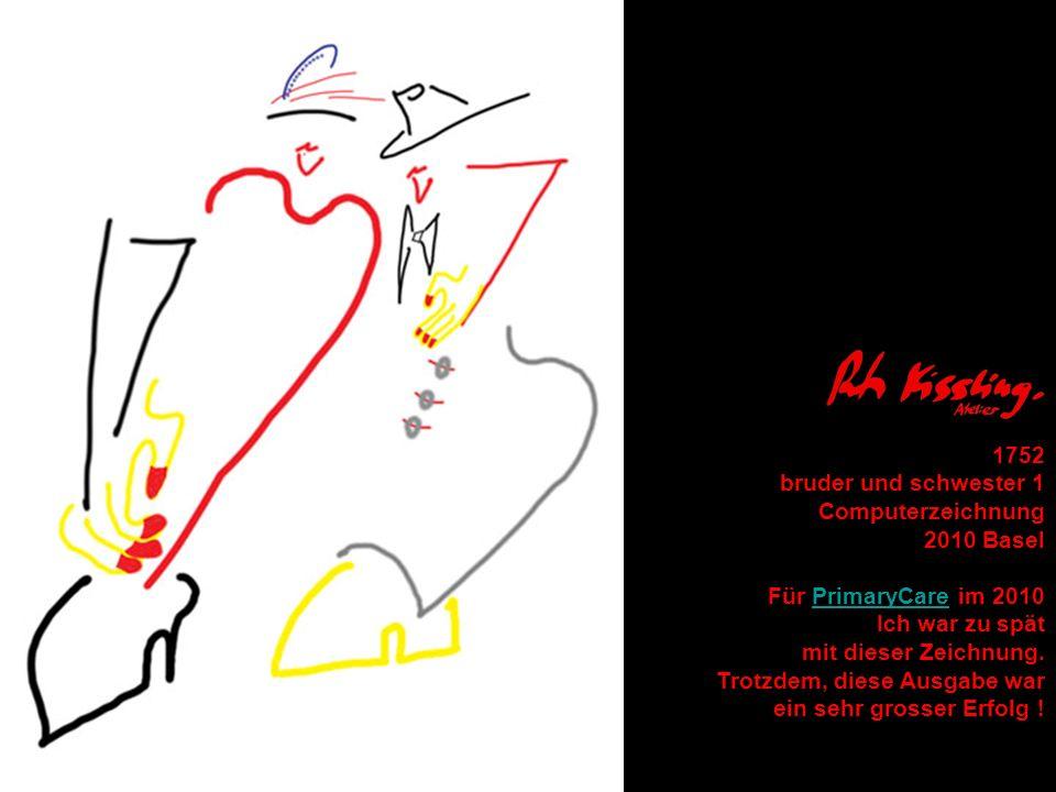 1752 bruder und schwester 1 Computerzeichnung 2010 Basel Für PrimaryCare im 2010PrimaryCare Ich war zu spät mit dieser Zeichnung. Trotzdem, diese Ausg