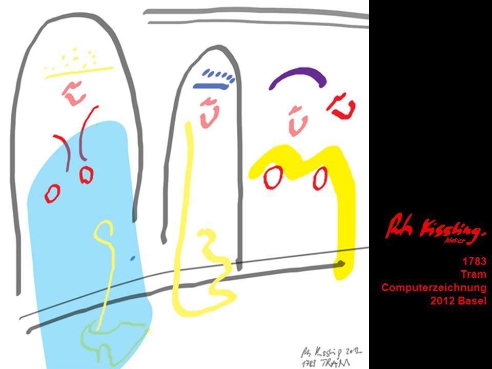 1783 Tram Computerzeichnung 2012 Basel