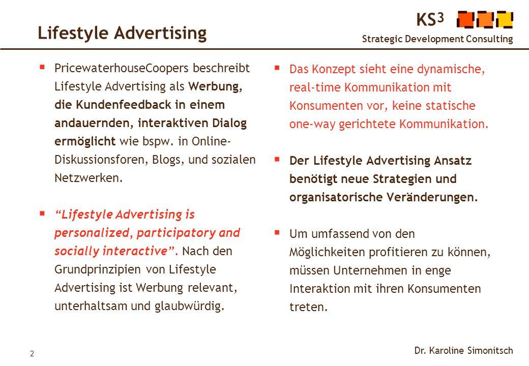3 KS 3 Strategic Development Consulting Dr.