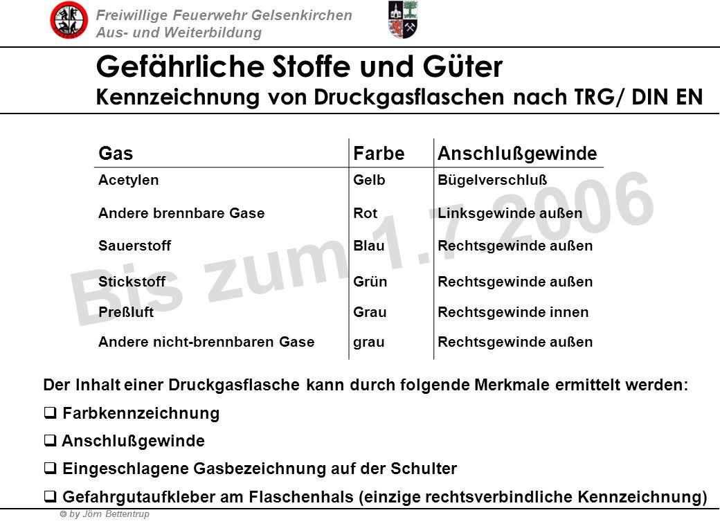 Freiwillige Feuerwehr Gelsenkirchen Aus- und Weiterbildung by Jörn Bettentrup Gefährliche Stoffe und Güter Symbolik nach UVV der Berufsgenossenschafte