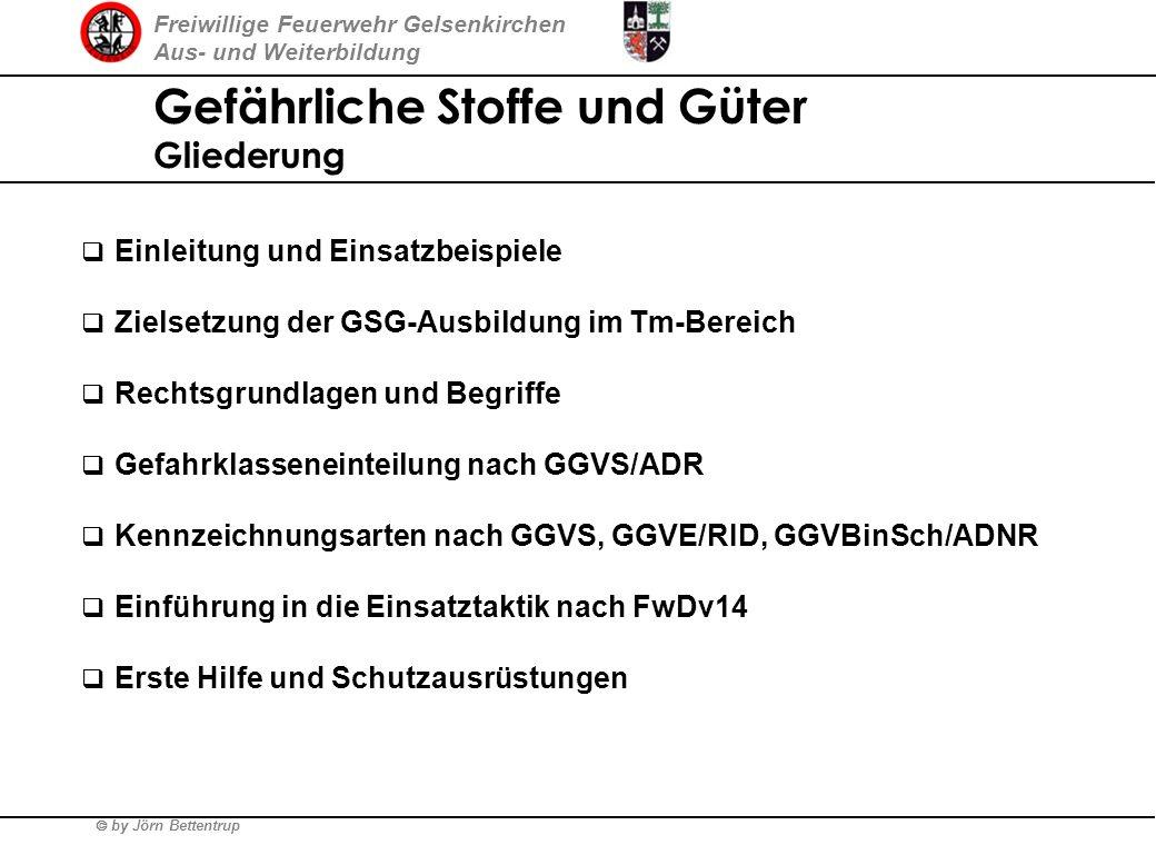 Freiwillige Feuerwehr Gelsenkirchen Aus- und Weiterbildung by Jörn Bettentrup Gefährliche Stoffe und Güter