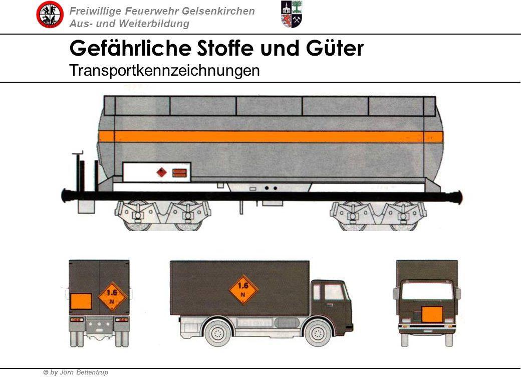 Freiwillige Feuerwehr Gelsenkirchen Aus- und Weiterbildung by Jörn Bettentrup Gefährliche Stoffe und Güter Transportkennzeichnungen