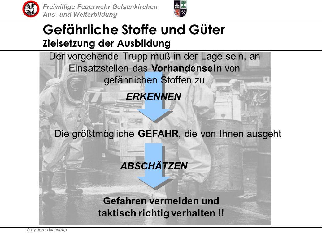 Freiwillige Feuerwehr Gelsenkirchen Aus- und Weiterbildung by Jörn Bettentrup Warum befassen wir uns mit dem Thema GSG ? ca. 1,1 Mio Tonnen Gefahrgutw