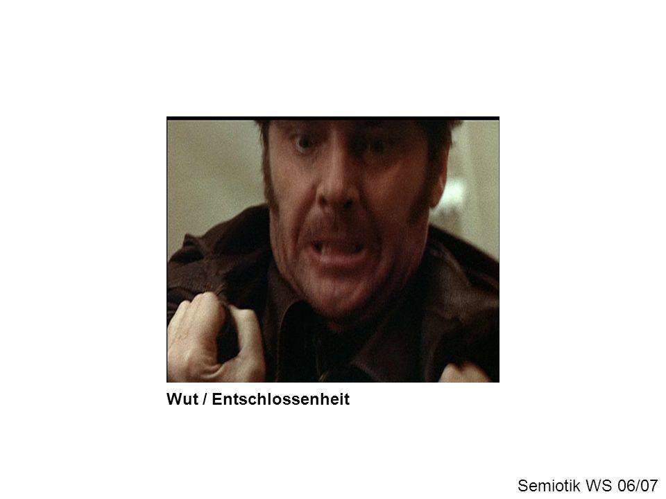 Wut / Entschlossenheit Semiotik WS 06/07