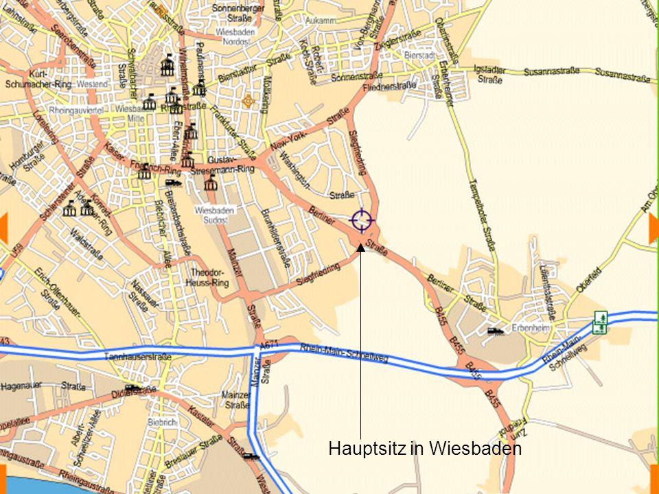 Hauptsitz in Wiesbaden