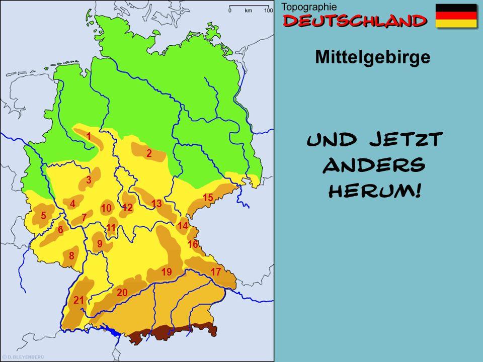 Mittelgebirge 1 2 3 4 5 6 7 8 9 10 11 12 13 14 15 16 1719 20 21