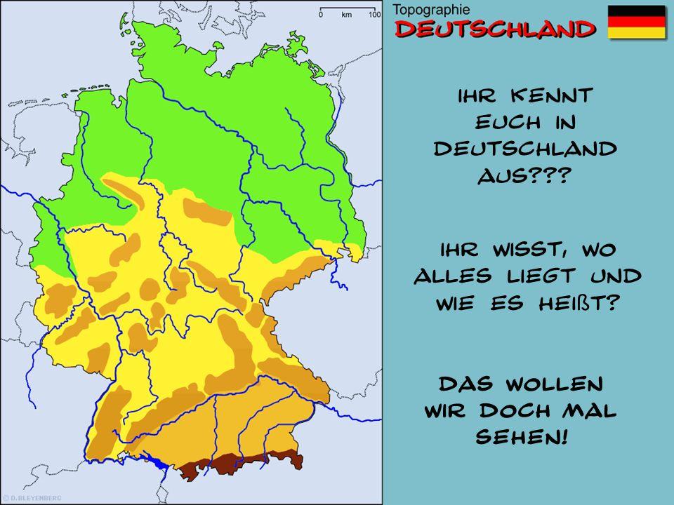 Rhein Elbe Donau Weser Ems Oder Havel Saale Ruhr Mosel Main Neckar Lech Isar Inn STÄDTE-QUIZ Wie heißt diese Stadt.