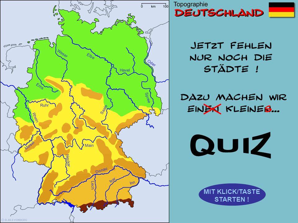 Wie heißt der rot markierte Fluss? Rhein Elbe Donau Weser Spree Mosel Main Inn Saale Ems Lech Isar Neckar Oder Ems Oder Spree Saale Ruhr Mosel Flüsse